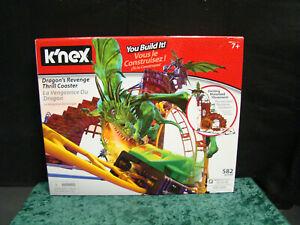A8 K/'nex Dragon/'s Revenge Thrill Coaster New in Sealed Box Roller Coaster