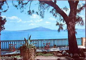 1961 SORRENTO il Vesuvio visto dall\'hotel La Terrazza-edizione Casa ...