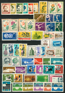 BULGARIA-1960-1970-Complete-Sets-amp-Single-Issues-Only-on-2-Pages-Fine-Used