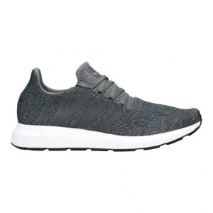 adidas Swift Run Casual Shoes Trainers Grey Black White CG4116 NMD ... 2917a8583
