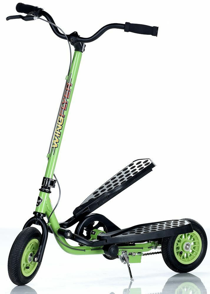Zike WingFlyer Z100 Type Kids Elliptical Stepper Type Z100 Fitness Scooter Lime NEW ca6d5a