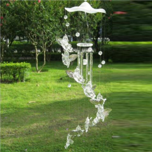 Wind Chimes Bell Aluminum Tubes Angel Garden Balcony Home Decor Ornament Gifts