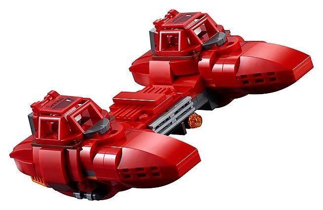 LEGO STAR WARS Cloud Car w  (2) Cloud Car Pilots from Set  75222