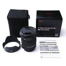Sigma 17-50mm F2.8 EX DC OS HSM Zoom Lens for Nikon Mount #SI134X DWW