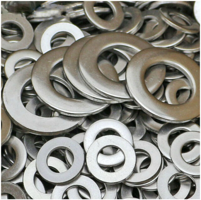 M1.6-M30 Stainless Steel M2 M3 M4 M5 M6 M24Ultra Thin Washers Flat Metal Gasket