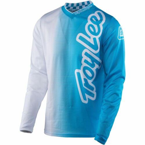 Medium Troy Lee Designs Jersey GP 50//50 Blue Youth