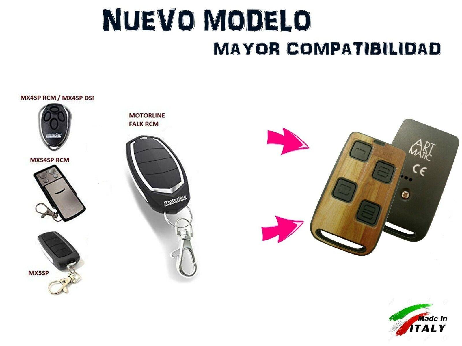 Ultima tecnologia Mando DE Garaje Compatible Universal Art Matic Codigo Fijo y Variable 433 MHz 868 MHz