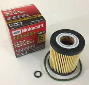 New Oem Ford Fl2017b Cartidge Oil Filter Fusion 2 3l