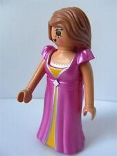Playmobil Victoriano Dama/Princesa En Rosa Vestido de nuevo Dollshouse/Palacio figura