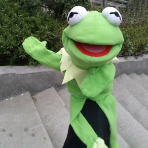 New-The-Muppet-Show-Kermit-the-Frog-Plush-Hand-Puppet-Kids-Birthday-Toy-Gift-Fun