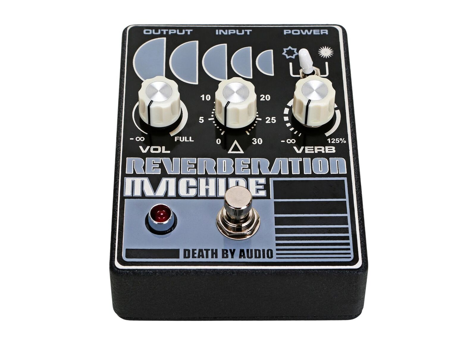 Death By Audio Reverberation Machine Machine Machine Pedal EFFECTS - NEW - PERFECT CIRCUIT ba0809