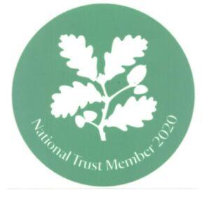 NATIONAL-TRUST-Car-Park-sticker-2020-BRAND-NEW