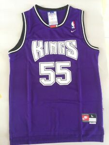 huge selection of ddb46 96dbb Details about New Men's Jason Williams Sacramento Kings Throwback Swingman  Jersey Purple S M L