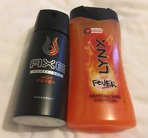 Buy Lynx Fever Aka Axe Hot Fever 1 Deodorant Body Spray 1 Shower