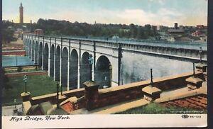 Vintage-Postcard-High-Bridge-New-York-D18