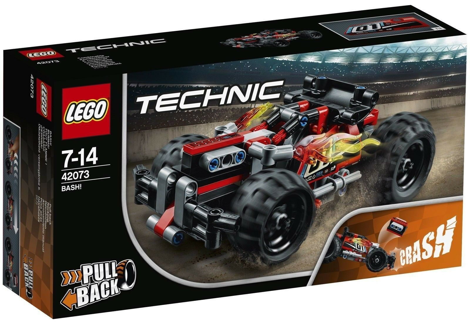 LEGO TECHNIC CRAAASH - LEGO 42073