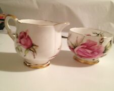 """Royal Stafford """"First Love"""" Sugar And Creamer - FINAL PRICE REDUCTION!!"""
