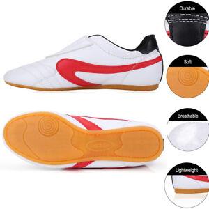 6c4995487 Image is loading Unisex-Shoes-Children-Adults-for-Taekwondo-Boxing-Kung-