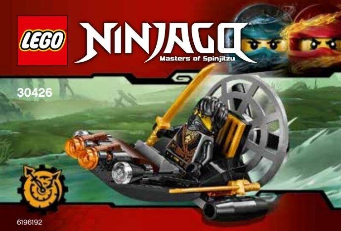 Lego Ninjago Sigiloso Pantano Hidrodeslizador 30426 Polybag Bnip