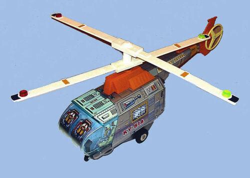 Ky-51a Helico Higway Patrol / K.y. Japan 1970 Livraison Monde Entier