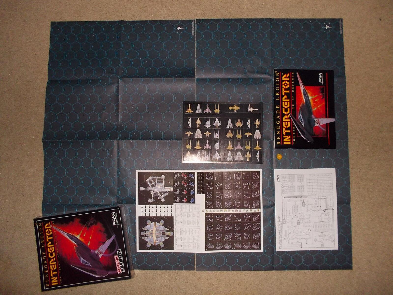Interceptor & Prefect 2 NEW games bundle with 2 books& 2 Cohorts RENEGADE LEGION