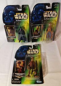 Star Wars Kenner Action Figures Lot Of 3 Yak Face/Garindan/Momaw (READ...