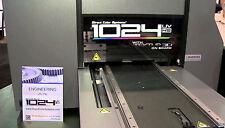 Direct Jet DJ-1024 UVHS Small-Format UV Flatbed Printer