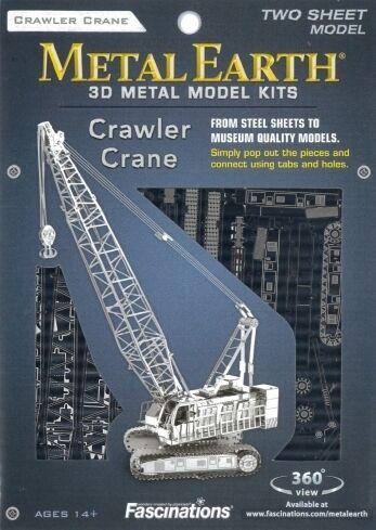 Crawler Crane Metal Earth 3D Model Kit FASCINATIONS