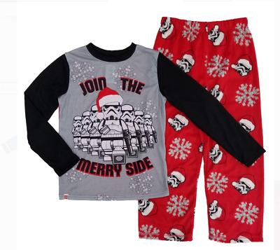 Boys Christmas Pajamas.Lego Disney Star Wars Boys Christmas Stormtrooper Pajama Set 2pc Ebay