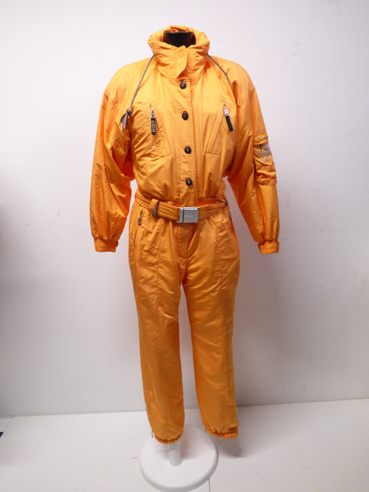 BOGNER DAMEN SKIANZUG Gr 38  - DE    IN orange & WINTERWARM  ( P 7819 R )  brand