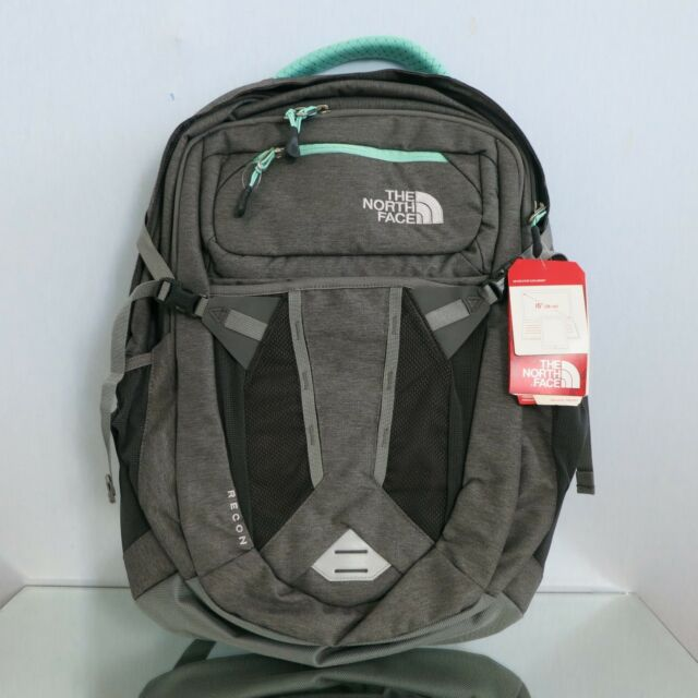 105716516 THE NORTH FACE Recon Women's Backpack Grey/ Green