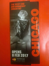 CHICAGO THE MUSICAL - SINGAPORE promo flyer