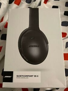 Bose QuietComfort 35 II Wireless Noise Cancelling Headphones - Black