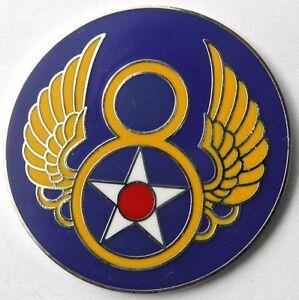 USAF-US-8TH-AIR-FORCE-LAPEL-PIN-BADGE-1-INCH