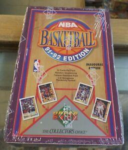 1991-92-NBA-Upper-Deck-Basketball-Cards-Sealed-Box-Packs-Series-One-1-hobby