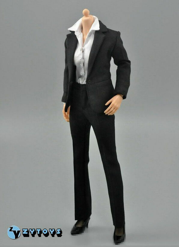 1 1 1 6 Female Business Career Suit Set For 12  Hot Toys Phicen Figure SHIP FROM USA e67506