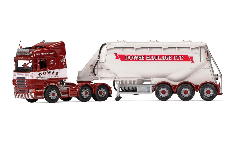 Corgi CC13769 1 50 Scania R Highline feldbinder petrolero Dowse Transporte LTD