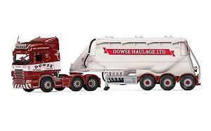 Corgi Cc13769 1/50 Camion citerne Highline Feldbinder Scania R Dowse Haulage Ltd