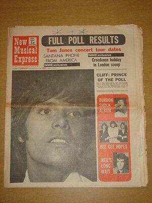 Liberaal Nme #1255 1971 Jan 30 Santana Creedence Cliff Richard Limpid In Zicht