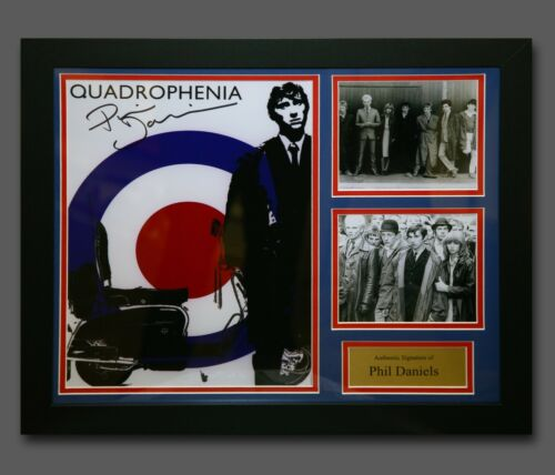 Phil Daniels Hand Signed Quadrophenia 12x16 Photograph In A Fame Presentation