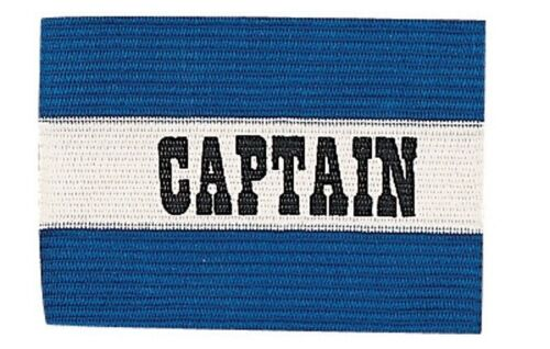 New Champion Adult Senior Soccer Captains Arm Band Fits Most Ages 13 /& Up Blue