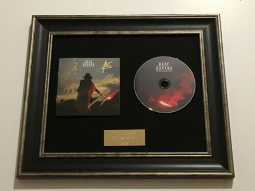 ALL THESE COUNTLESS NIGHTS FRAMED CD RARE SIGNED//AUTOGRAPHED DEAF HAVANA
