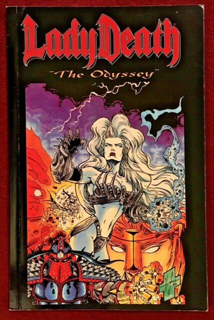 Lady Death Ser.: Odyssey by Brian Pulido (1997, Trade Paperback) Chaos Comics.