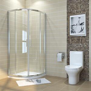 duschabtrennung viertelkreis runddusche duschkabine schiebet r dusche duschtasse ebay. Black Bedroom Furniture Sets. Home Design Ideas