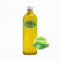 Pure Sunflower Oil Cold Pressed Organic High Oleic Free Shipping