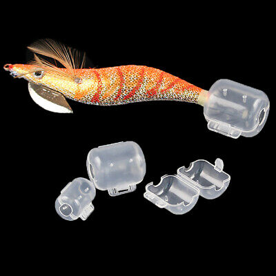 New 10PCS//Lot Hooks Cover Jig Squid Umbrella Hook Box Protector Fishing Tackle