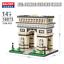 Balody-Architecture-Weltberuhmtes-Gebaude-Diamond-Bausteine-Nano-Blocks-Geschenk thumbnail 7