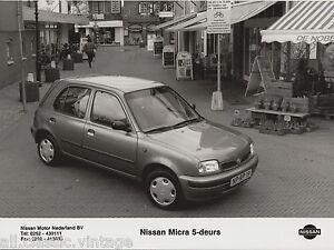 PRESS-FOTO-PHOTO-PICTURE-Nissan-Micra-5-deurs