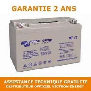Victron Energy GEL Batterie de Loisirs à Décharge Lente 12V/110AH - BAT412101104