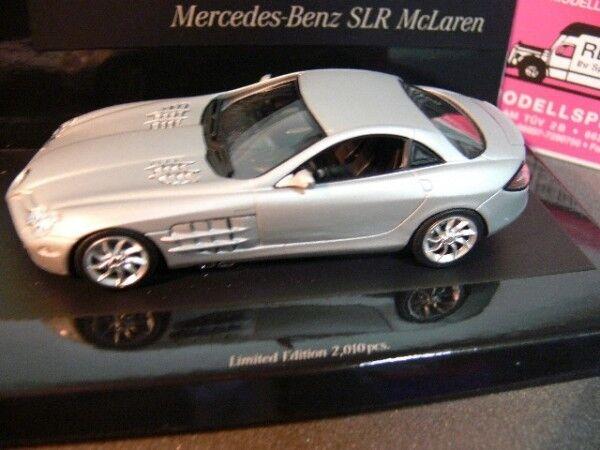 1 43 Minichamps MB slr mclaren 2004 plata mate 436 033021
